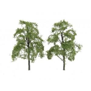 "HORNBY R8922 ASH TREE 4"" (2)  100MM"
