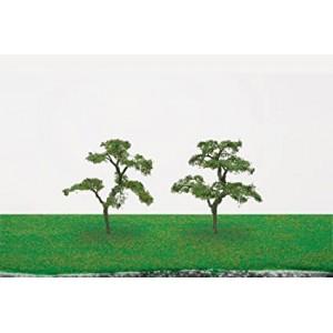 "HORNBY R8924 BEECH TREES 4"" (2) 100MM"