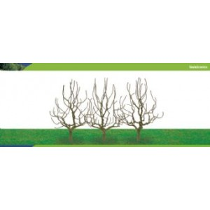 HORNBY R8940 DECIDUOUS TREES 100MM (3)