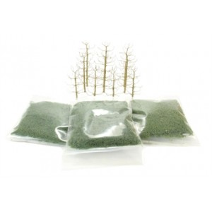 HORNBY R8946 TREE KIT SYCAMORE 63-100MM (10 PCS)
