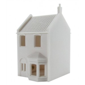 HORNBY R9644 SMALL TOWNHOUSE UNPAINTED