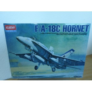 ACADEMY 12411 F/A- 18C HORNET VLIEGTUIG