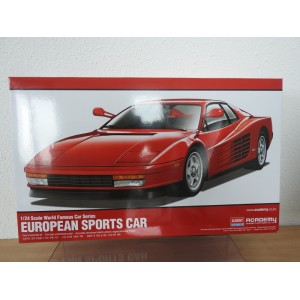 ACADEMY 15526 EUROPEAN SPORTS CAR