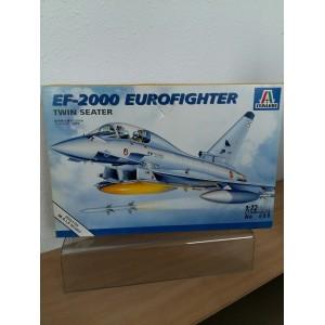 ITALERI 099- EF-2000 EUROFIGHTER twin seater VLIEGTUIG