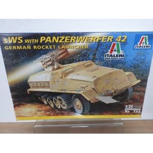 ITALERI 356 sWS with PANZERWERFER 42 TANK