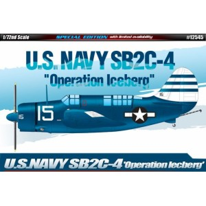 ACADEMY 12545 - US Navy SB2C-4 VLIEGTUIG