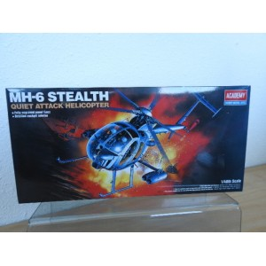 ACADEMY 1691-MH 6 STEALTH HELICOPTER