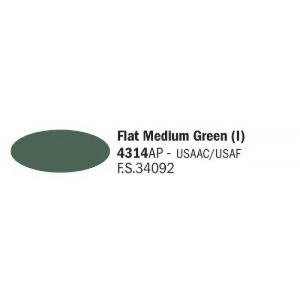 ITALERI 4314AP - Medium Green (I) (M) FS34092
