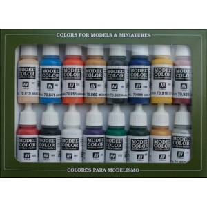 VALLEJO 70110 - Model Color Set 10 - Napoleonic Colors