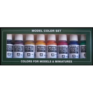 VALLEJO 70136 - Model Color Set 36 - Transparent Colors